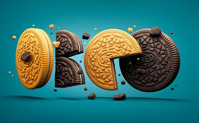 Oreo-3d-Type - 53+ Impressive BEST Free Food & Drink Designs [year]