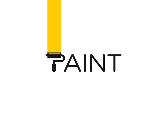 Paint - 38+ Nice 100% Free Letter Substitution Logo Designs [year]