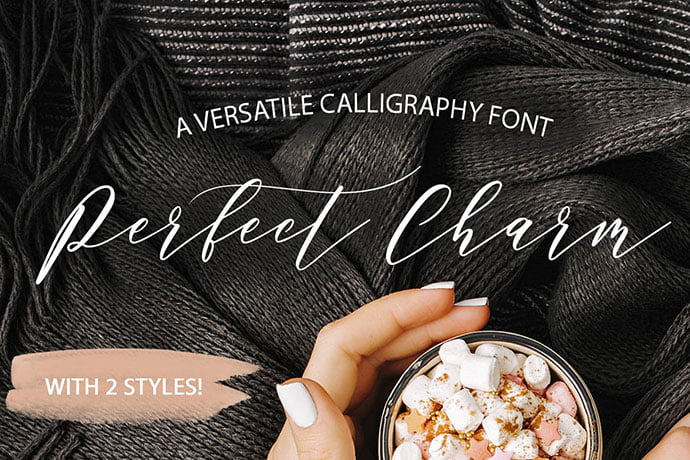 Perfect-Charm - 53+ Nice T-shirt Design Hand Lettering Fonts [year]