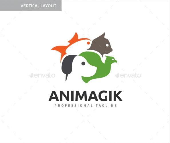 Pet-Shop-Animal - 43+ Top BEST Free Animal Logo Designs Example [year]