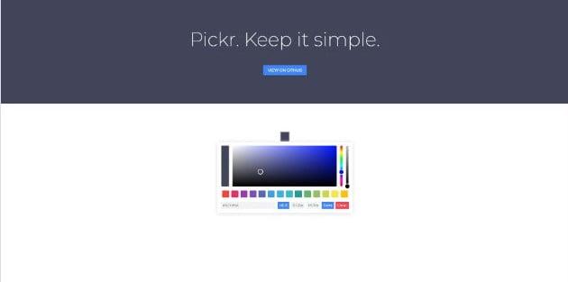 Pickr - 38+ Amazing 100% Free Bootstrap Web UI KIT [year]