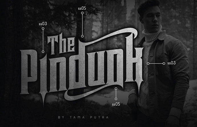 Pindunk - 28+ Excellent 100% Free Blackletter Fonts [year]