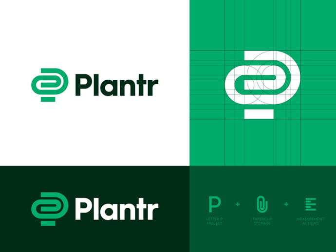 Plantr - 38+ Excellent BEST Free Logo Grids Sample [year]