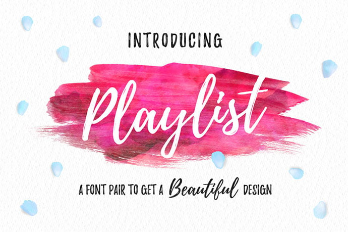 Playlist - 53+ Best Free Calligraphy & Hand Lettering Fonts [year]