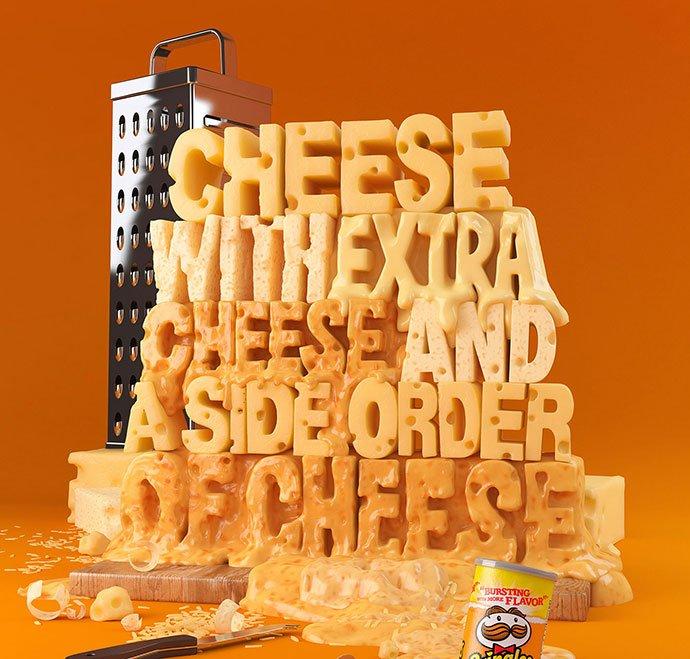 Pringles-Galaxy - 53+ Impressive BEST Free Food & Drink Designs [year]