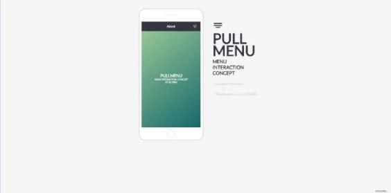 Pull-Menu - 38+ Nice BEST Free CSS Device Mockups [year]