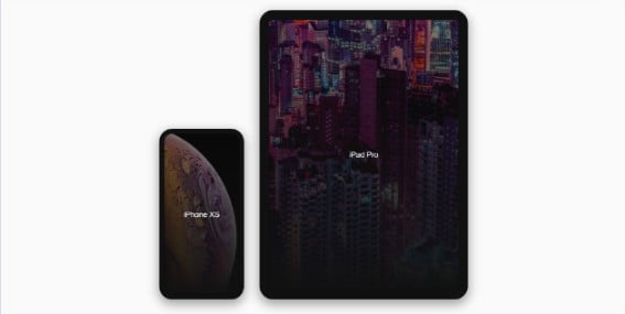 Pure-CSS-Proportional-iPhone-XS - 38+ Nice BEST Free CSS Device Mockups [year]