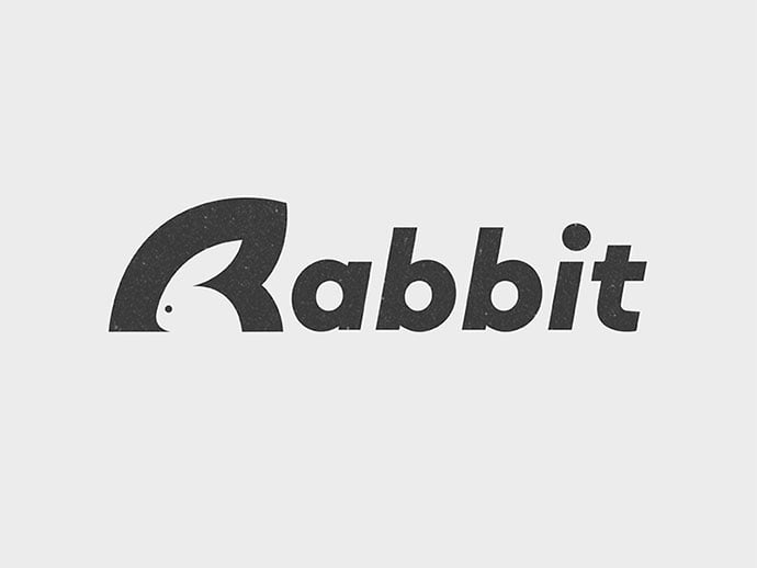Rabbit - 38+ Nice 100% Free Letter Substitution Logo Designs [year]