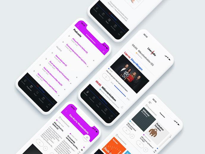 Radio24seven - 63+ BEST Free PodCast Web & Mobile App UI Design IDEA [year]