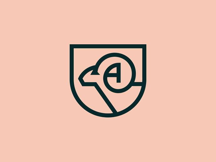 Ram - 43+ Top BEST Free Animal Logo Designs Example [year]