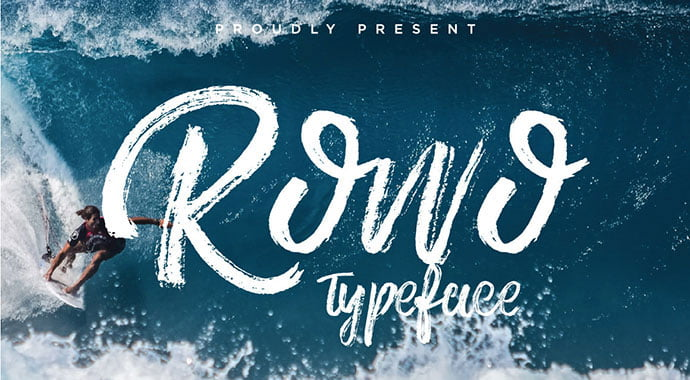 Rowo - 53+ Best Free Calligraphy & Hand Lettering Fonts [year]