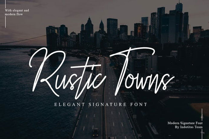 Rustic - 38+ Attractive Handwriting & Signature Fonts [year]
