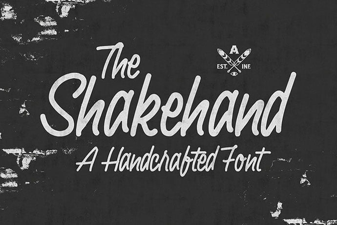 Shakehand - 53+ Nice T-shirt Design Hand Lettering Fonts [year]