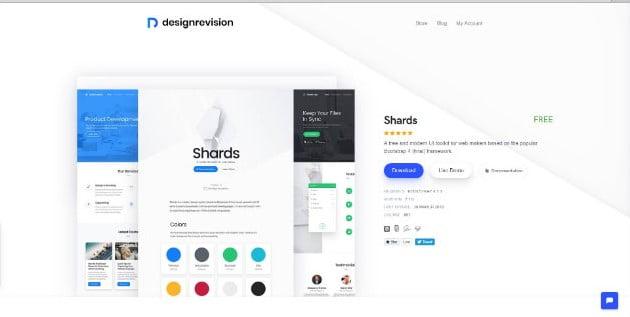 Shards-UI - 38+ Amazing 100% Free Bootstrap Web UI KIT [year]