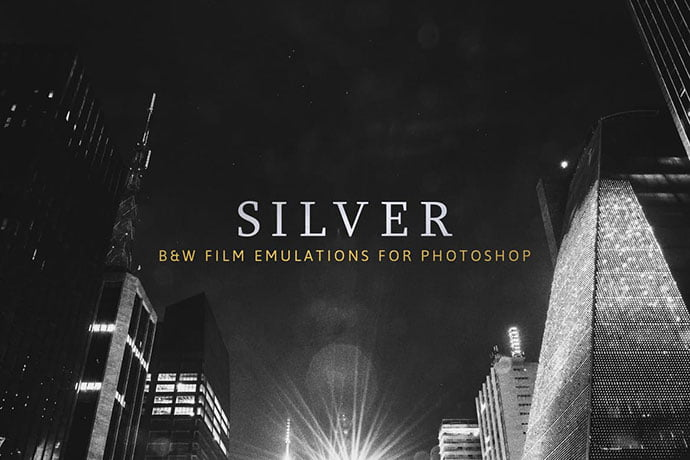 Silver - 34+ Awesome Black & White Photoshop Actions [year]