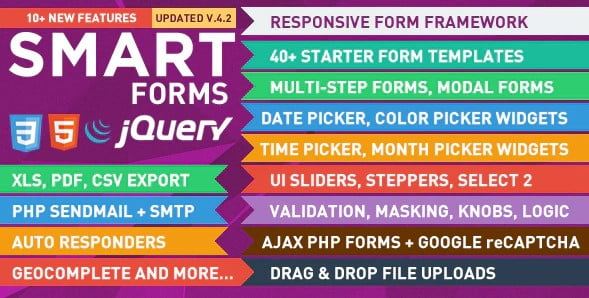 Smart-Forms - 38+ Awesome 100% Free Web Color Picker Designs [year]