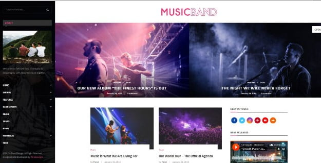 Soledad - 33+ Awesome Music Blog Responsive WordPress Themes [year]