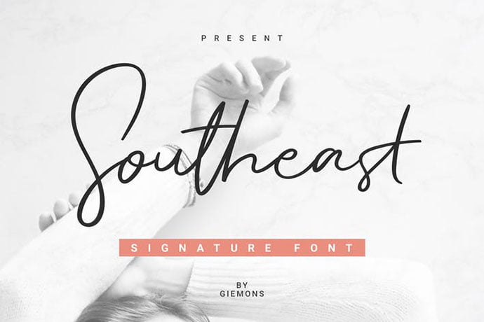 Southeast - 38+ Attractive Handwriting & Signature Fonts [year]