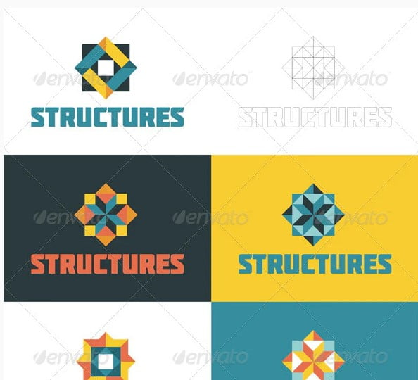 Structures - 38+ Excellent BEST Free Logo Grids Sample [year]