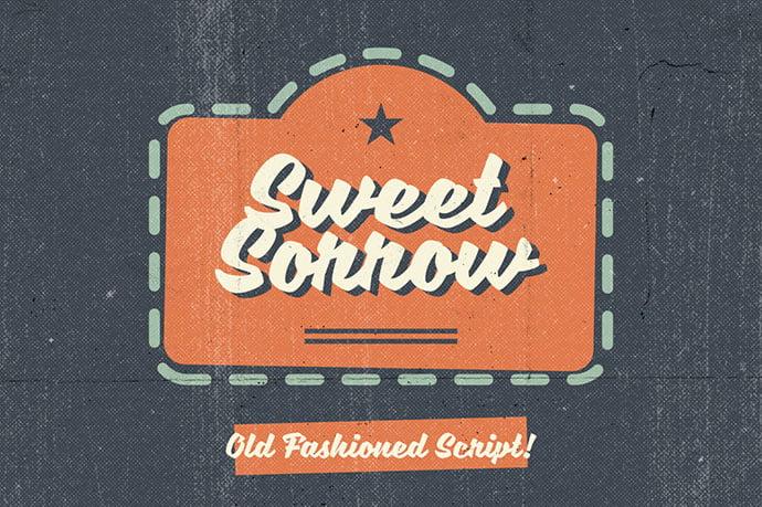 Sweet-Sorrow - 38+ Lovely BEST Free Graffiti Web Fonts [year]