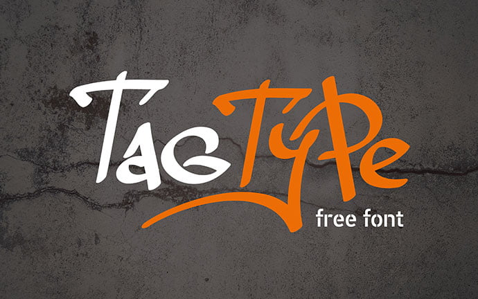 Tag-Type - 38+ Lovely BEST Free Graffiti Web Fonts [year]