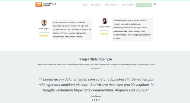 Testimonials - 28+ Important WordPress Review Plugins For Developer [year]