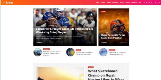 The-Next-Mag - 42+ Amazing Sport Magazine WordPress Themes [year]