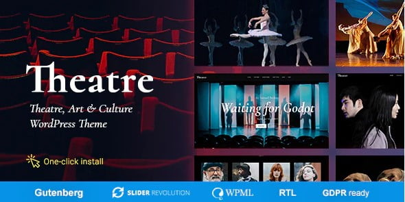 Theater - 37+ Awesome Actors WordPress Themes [year]