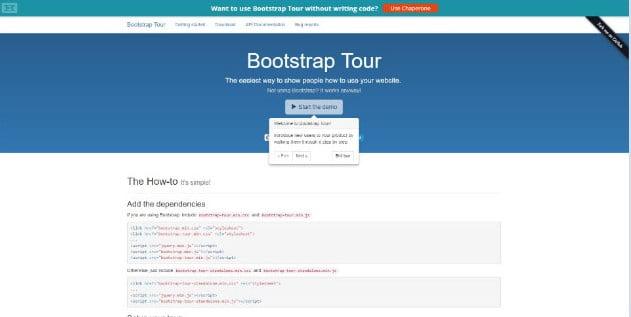 Tour - 38+ Amazing 100% Free Bootstrap Web UI KIT [year]