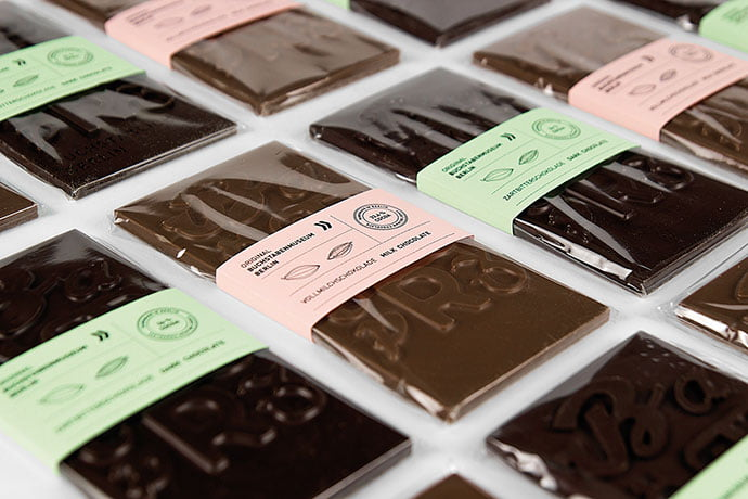 Typographic-Chocolate - 53+ Impressive BEST Free Food & Drink Designs [year]