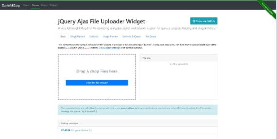 Uploader - 33+ Important BEST Free File Upload Script Libraries [year]