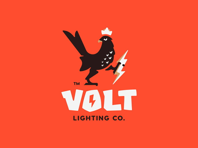 Volt - 43+ Top BEST Free Animal Logo Designs Example [year]