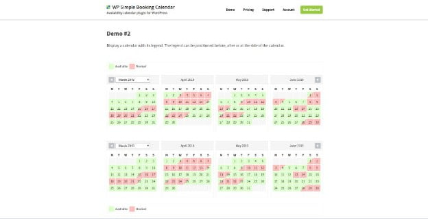WP-Simple-Booking - 28+ 100% Free Booking & Scheduling WordPress Plugins [year]