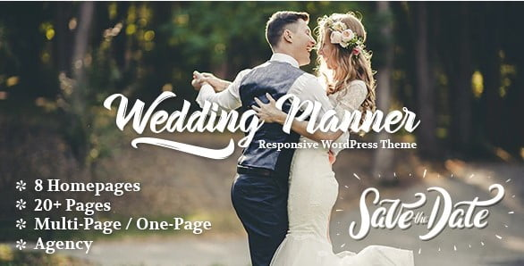 Wedding-Planner - 35+ Nice WordPress Wedding Planner Themes [year]