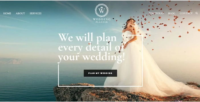 Wedding - 35+ Nice WordPress Wedding Planner Themes [year]
