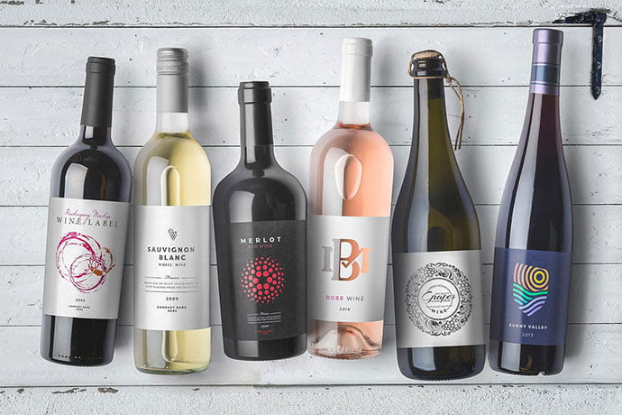 Wine-Bottles - 38+ Nice PSD Mockups for Your Amazing Projects [year]