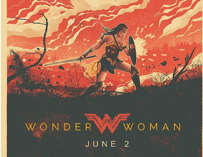 Wonder-Woman - 39+ Best BEST Free Retro & Vintage Movie Design [year]