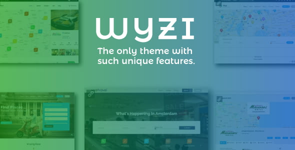 Wyzi - 37+ Awesome WordPress Booking Themes [year]
