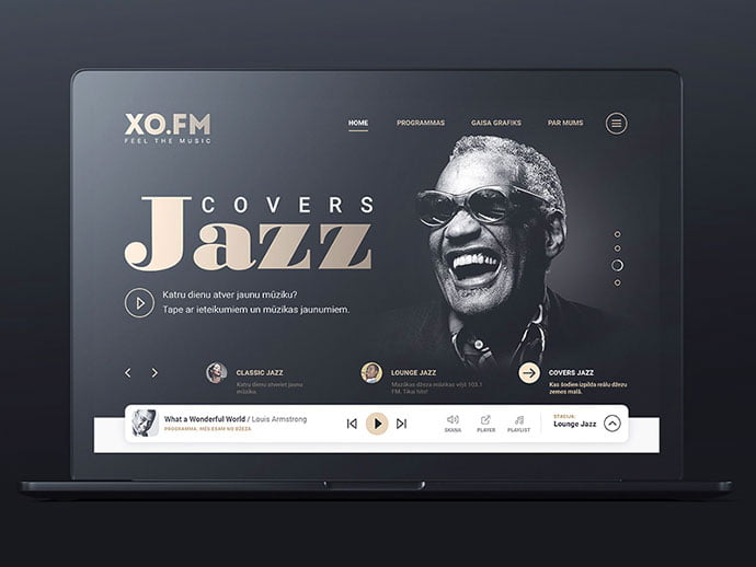 XO.FM_ - 63+ BEST Free PodCast Web & Mobile App UI Design IDEA [year]