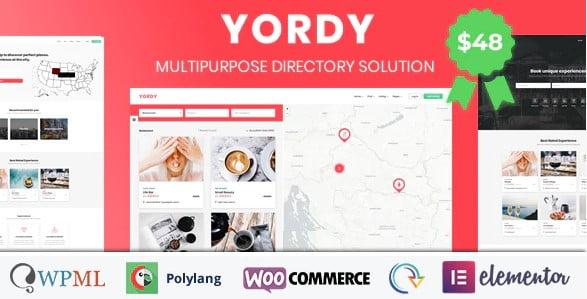 Yordy - 37+ Awesome Actors WordPress Themes [year]