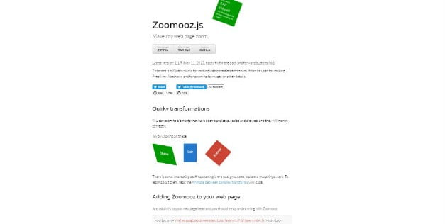 Zoomooz - 34+ Important Web & Mobile Zoom Libraries [year]