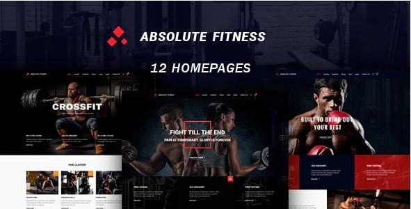 Absolute-Fitness - 35+ HOT WordPress Dance Studios Themes [year]