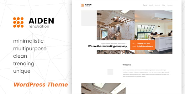 Aiden - 34+ TOP Responsive WordPress Taxi Themes [year]