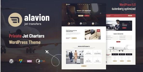 Alavion - 34+ TOP Responsive WordPress Taxi Themes [year]