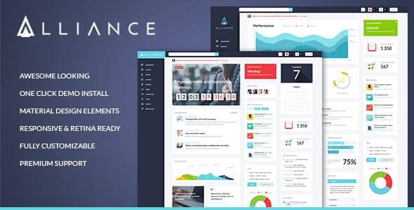 Alliance-1 - 30+ AWESOME WordPress Intranet Themes [year]