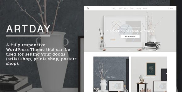 Artday - 36+ Awesome WordPress Single Product Themes [year]