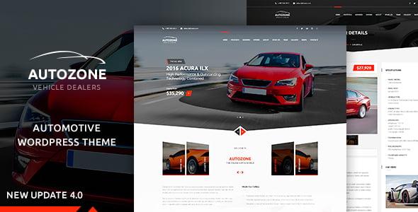 Autozone - 34+ TOP Responsive WordPress Taxi Themes [year]