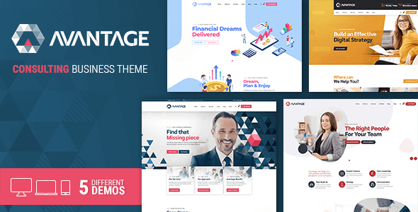 Avantage - 35+ TOP WordPress Coworking Space Themes [year]