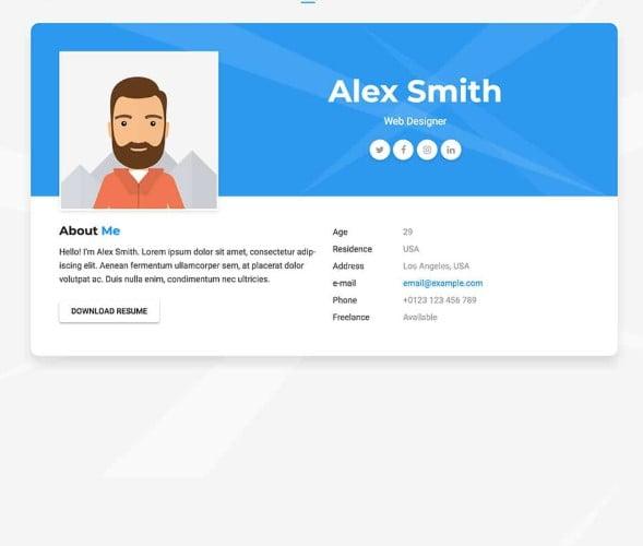 Aveo - 35+ GREAT WordPress Resume Themes [year]