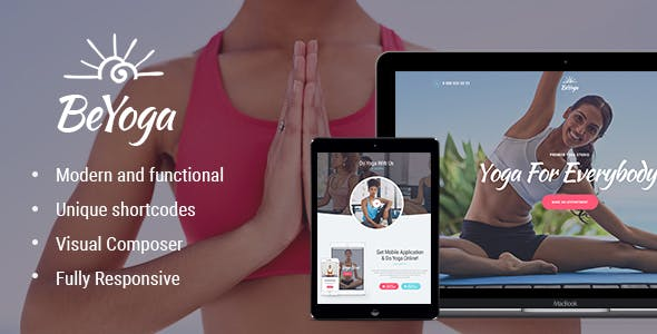 BeYoga - 35+ HOT WordPress Dance Studios Themes [year]